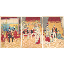 渡辺延一: Imperial Prosperity: Ceremony in the Eastern Capital - メトロポリタン美術館