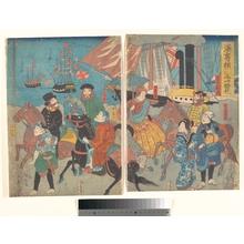 Ikkôsai Yoshimori: A Glance at Miyosaki, Yokohama - Metropolitan Museum of Art