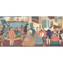 Utagawa Yoshitora: People of the Five Nations - Metropolitan Museum of Art