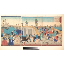 Utagawa Yoshitora: Scene of London in England - Metropolitan Museum of Art