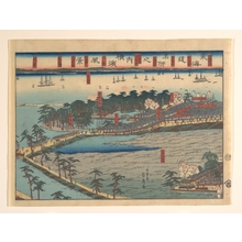 Utagawa Sadahide: Landscape View at Yokohama (Yokohama fûkei) - Metropolitan Museum of Art