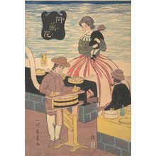 Utagawa Yoshikazu: A Dutch Group - Metropolitan Museum of Art