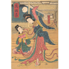 Utagawa Yoshitora: Two Chinese Women - Metropolitan Museum of Art