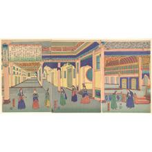 Utagawa Yoshitora: Heidoru (St. Petersberg), Capital of Russia - Metropolitan Museum of Art