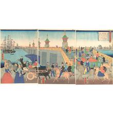 Utagawa Yoshitora: London, England - Metropolitan Museum of Art