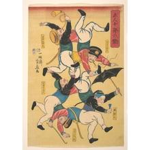 芳藤: Five People Working Like Ten - メトロポリタン美術館
