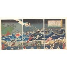 Utagawa Sadahide: Warrior Scene - Metropolitan Museum of Art