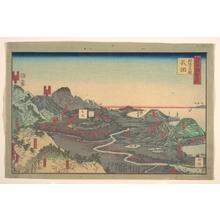 Utagawa Sadahide: Panoramic Landscape - Metropolitan Museum of Art