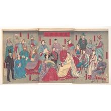 Kobayashi Kiyochika: Various Foreigners - Metropolitan Museum of Art