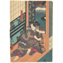 歌川国貞: - メトロポリタン美術館