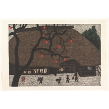 朝井清: Village Scene - メトロポリタン美術館