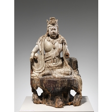 Unknown: Bodhisattva Avalokiteshvara in Water Moon Form (Shuiyue Guanyin) - Metropolitan Museum of Art