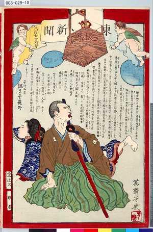008-029-18「東[京日々]新聞 八百七十六号」 ・・『』