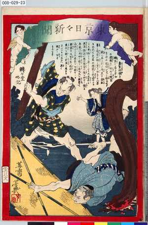 008-029-23「東京日々新聞 九百廿三号」 ・・『』