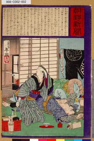 008-C002-002「朝野新聞」「第千三百七十一号甲」 ・・-『』