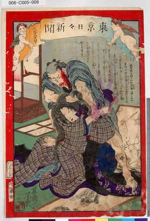 008-C005-008「東京日々新聞」 「八百八十号」・・-『』