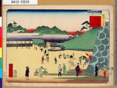 一景: 「東京三十六景」 「二」「筋違御門内」 - 東京都立図書館