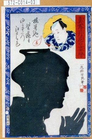 Ochiai Yoshiiku: 「真写月花の姿絵」 - Tokyo Metro Library