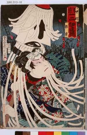 Toyohara Kunichika: 「東京一二伊達競」「中村翫雀」 - Tokyo Metro Library