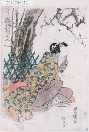 KA4729-012「さがみ 瀬川菊之丞」 文化14・08・河原崎座『一谷☆軍記』