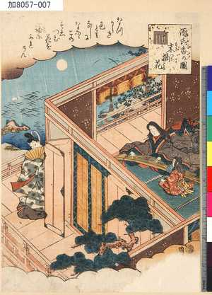 KA8057-007「源氏香の図」 「末摘花」・・『』