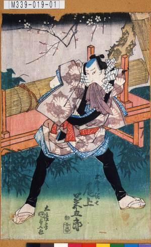 M339-019-01「お祭り佐七 尾上菊五郎」 天保11・01・13河原崎『梅咲若木場曽我』