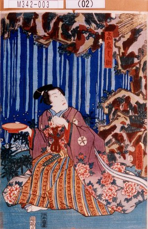 歌川国貞: 「当麻之助」 - 東京都立図書館