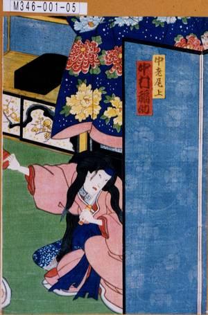 M346-001-05元治02・01・15守田座『百鵆魁曽我』