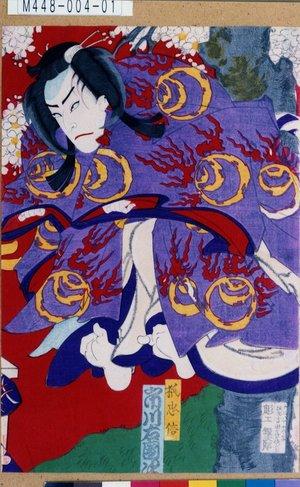 Morikawa Chikashige: 「狐忠信 市川右団次」 - Tokyo Metro Library