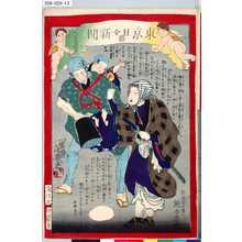 落合芳幾: 「東京日々新聞」 「八百廿二号」 - 東京都立図書館
