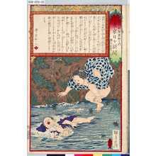 Kobayashi Eitaku: 「各種新聞図解の内」 「第七」「東京日々新聞」「第七百四十八号」 - Tokyo Metro Library