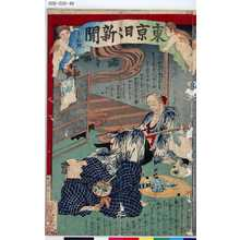 Ochiai Yoshiiku: 「東京日々新聞」 「千六拾号」 - Tokyo Metro Library