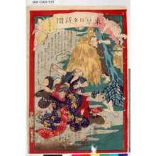 Ochiai Yoshiiku: 「東京日々新聞」 「九百八十二号」 - Tokyo Metro Library