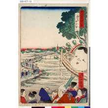 Ikkei: 「東京名所四十八景」 「浅草酉の市」 - Tokyo Metro Library