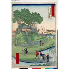 Ikkei: 「東京名所四十八景」 「浅草寺境内弁天山」 - Tokyo Metro Library