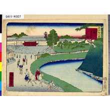 Ikkei: 「東京三十六景」 「二十八」「外さくら田」 - Tokyo Metro Library