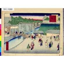 Ikkei: 「東京三十六景」 「二十九」「うち桜田」 - Tokyo Metro Library