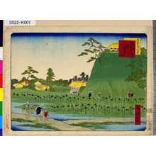 一景: 「東京三十六景」 「十二」「堀切花しょうぶ」 - 東京都立図書館