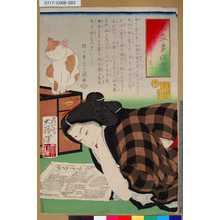 Tsukioka Yoshitoshi: 「見立多以盡」 「とりけしたい」 - Tokyo Metro Library