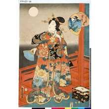 Utagawa Kunisada: 「十二月ノ内」 「葉月」 - Tokyo Metro Library