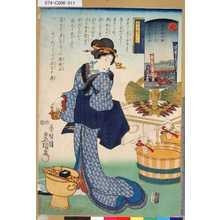 Utagawa Kunisada: 「意勢固世身見立十二直」 「定」「霜月顔見世」「暦中段つくし」 - Tokyo Metro Library