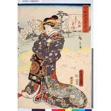 歌川国貞: 「今様源氏老若合」 「大和よしの山」 - 東京都立図書館