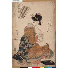 菊川英山: 「江戸仕入新かわり嶋」 「さよ衣みさたてしま」 - 東京都立図書館