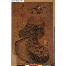 菊川英山: 「風流美人合」 「玉屋うち花の戸」 - 東京都立図書館