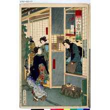 Toyohara Kunichika: 「開化三十六會席」 「新橋二葉町」「松栄楼」 - Tokyo Metro Library