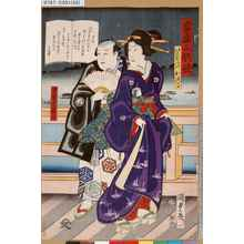 Utagawa Kunisada II: 「当盛五歌妓」「けんばんのおつる」「男芸者薪左」 - Tokyo Metro Library