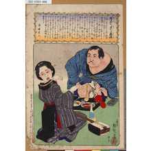 小林清親: - 「理屈を並へる酒癖」 - 東京都立図書館