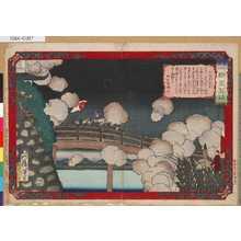 Tsukioka Yoshitoshi: 「皇国一新見聞誌」 「宇都宮の戦争」 - Tokyo Metro Library