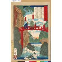 Tsukioka Yoshitoshi: 「大日本名将鑑」 「◆FABA◆川家光公」「井伊掃部頭」 - Tokyo Metro Library