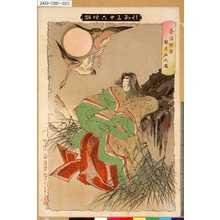 Tsukioka Yoshitoshi: 「新形三十六怪撰」 「奈須野原殺生石之図」 - Tokyo Metro Library